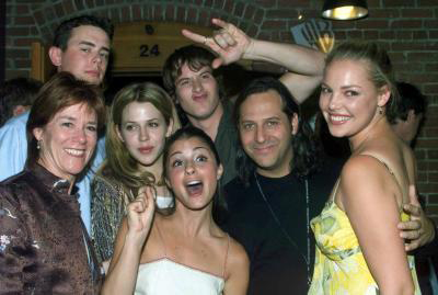The cast with Carol Trussel and Jason Katims