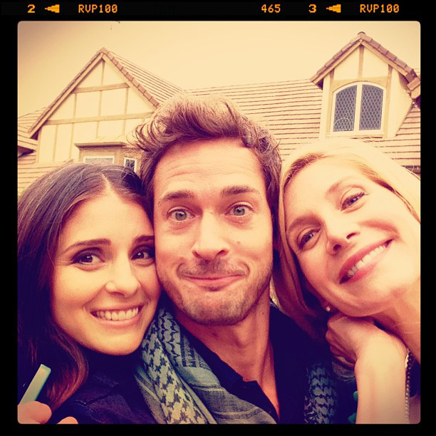 Shiri Appleby, Elizabeth Mitchell and Will Kemp in Last Chance Holiday