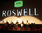 Roswell Reunion Panel at the ATX Television Festival 2014