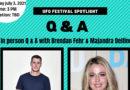 UFO Festival: Q & A With Brendan Fehr & Majandra Delfino