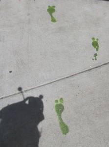 Alien footprints