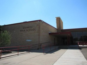 Roswell High Exterior
